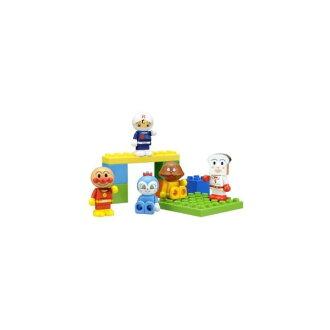 【真愛日本】17042000003 五入積木人物組-AP Anpanman 麵包超人 玩具 正品 限量 預購