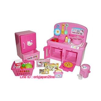 【真愛日本】16112100028廚房流理台玩具-KT  KITTY 凱蒂貓 三麗鷗 扮家家酒 兒童玩具 遊戲