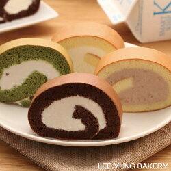 【里洋烘焙】北海道中澤生乳捲-(鮮奶原味/巧克力/芋頭/抹茶紅豆)
