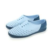 native 輕量懶人鞋、休閒防水鞋到native JERICHO 洞洞鞋 灰藍 女款 no466