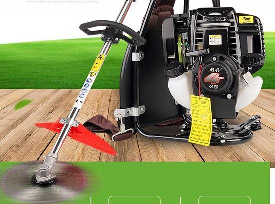 割草機 割草機四沖程背負式小型鬆土機打草機除草機農用多功能鋤草機 ~` 0