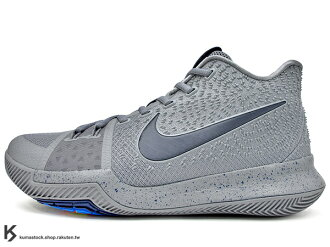 2017 Kyrie Irving 最新代言鞋款 NIKE KYRIE 3 III EP COOL GREY 灰 酷灰 HYPERFUSE 鞋面 後 ZOOM AIR 氣墊 UNCLE DREW (8..