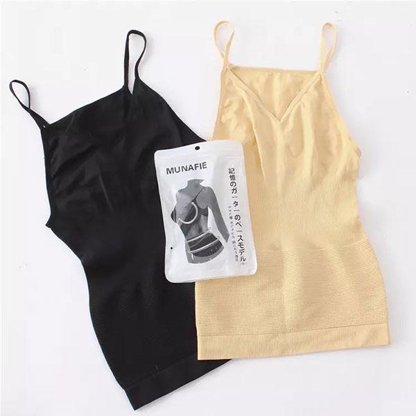 MUNAFIE 塑身衣 背心 瘦身衣 塑腹 調整型內衣 顯瘦 腰身 壓力衣