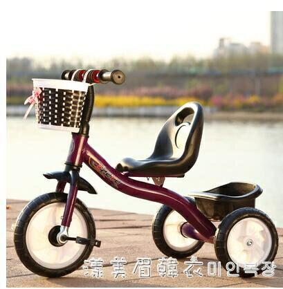 兒童三輪車腳踏車1-3-5歲大號單車寶寶手推車遛娃神器男女自行車