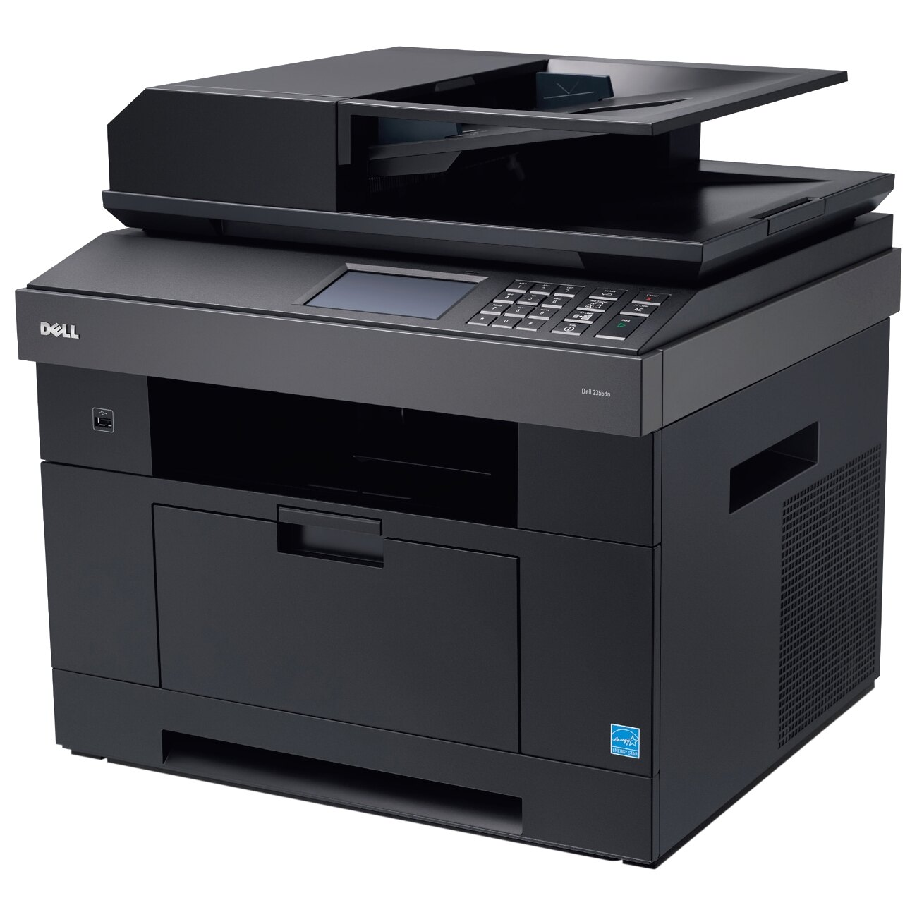 Refurbished Dell 2355DN Multifunction Printer - Monochrome - 35 ppm Mono - 1200 dpi - Printer, Copier, Scanner, Fax - Fast Ethernet - USB: Yes 0