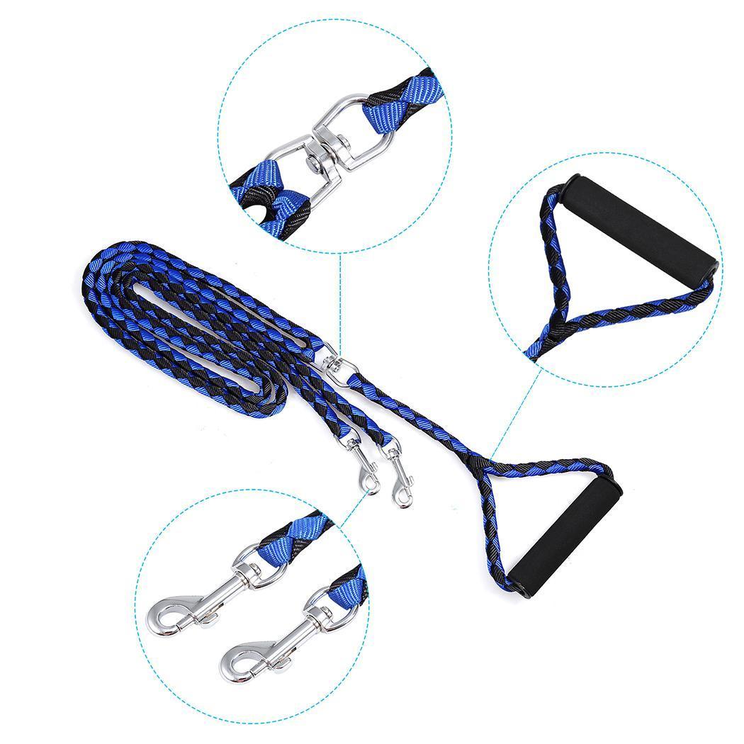 Nylon Soft Grip Handle Long Leash Dog Rope 3