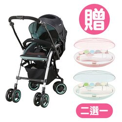 Combi 康貝 Nemurie UF800 雙向嬰兒手推車-寧靜綠【贈親子電動磨甲機】【悅兒園婦幼生活館】