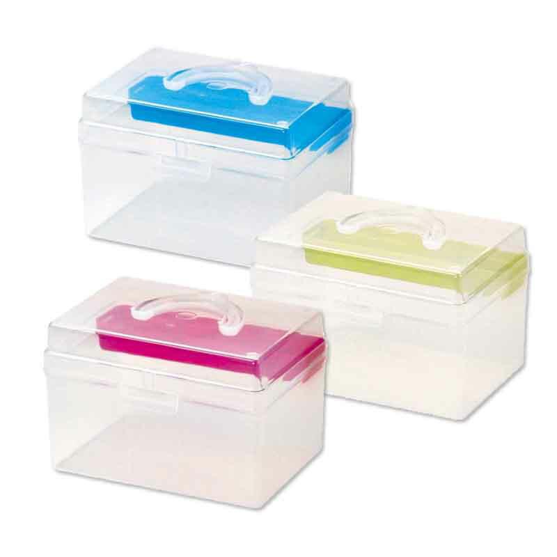 【台灣製】樹德TB-702 童顏系列手提箱 置物箱 零件 工具文具 收納箱 文件箱 文件零件盒 小物收納盒 手提盒