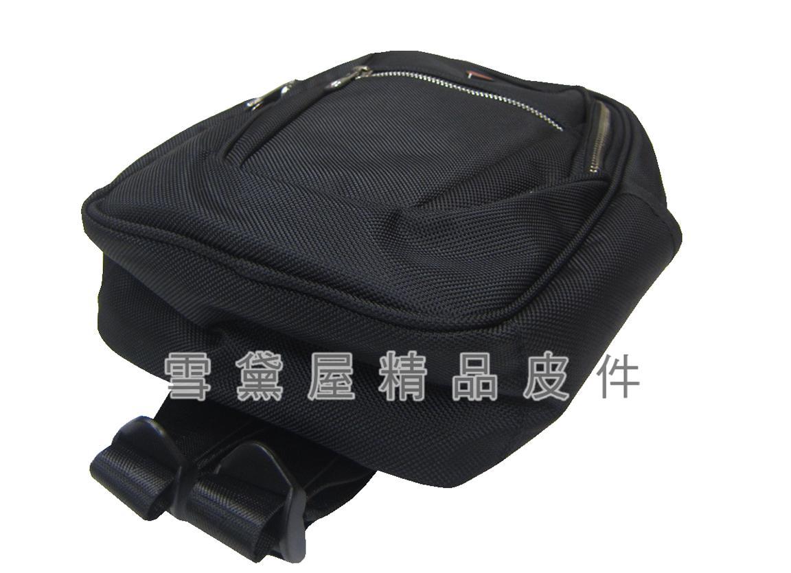 ~雪黛屋~SKYBOW 後背包小容量單左右肩雙後背二層主袋+外袋共三層防水尼龍布二層主袋口BSS500160700