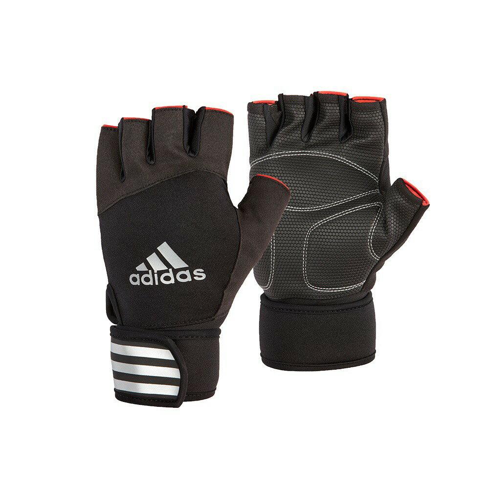 【Adidas愛迪達】進階加長防護手套(經典款)
