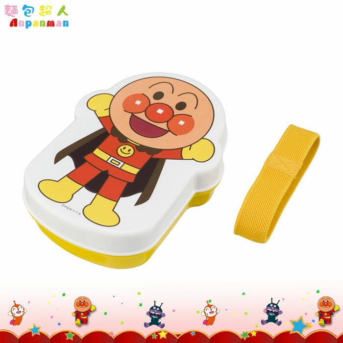 大田倉 日本進口正版麵包超人 人型便當盒 餐盒 便當盒 可微波加熱 內附飯菜隔層 871304