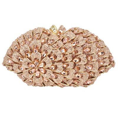 晚宴包鑲鑽手拿包-精美璀璨亮眼時尚女包包3色73su30【獨家進口】【米蘭精品】