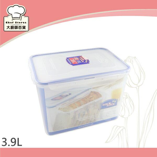 樂扣樂扣長方形微波保鮮盒3.9L大吐司盒HPL829-大廚師百貨