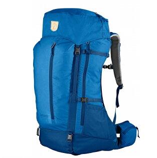 Fjallraven小狐狸AbiskoFriluft登山包網架背包後背包45L男款27211525聯合藍