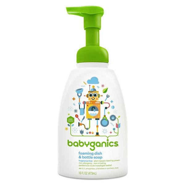 綠潔寶貝餐具清潔慕斯-無香味 16 OZ babyganics / 大地之愛