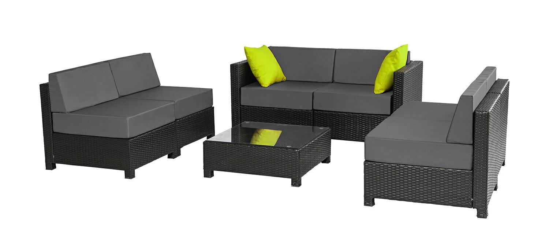 mcombo: mcombo 7 PC Outdoor Garden Patio Wicker Rattan Furniture ...