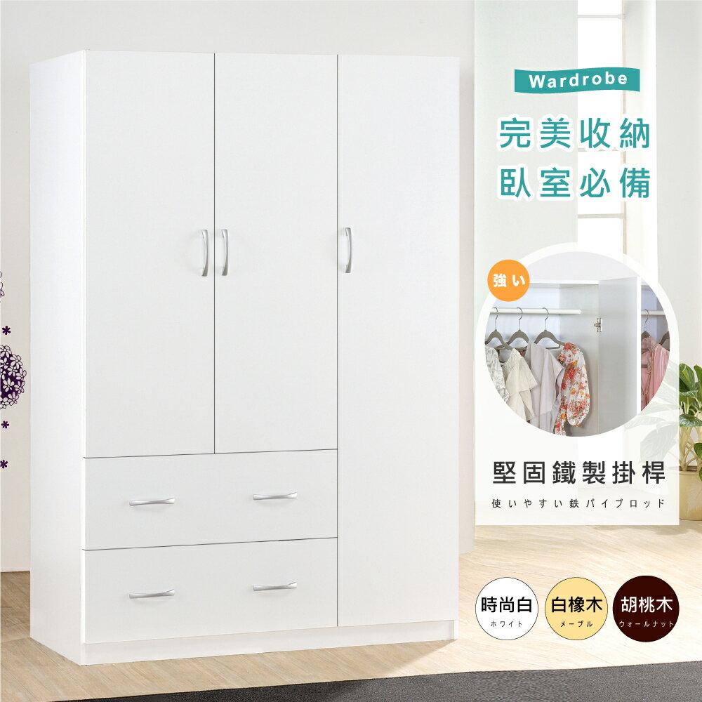 衣櫥 / 收納櫃 / 衣物收納 / DIY 三門二抽衣櫃《HOPMA》 2