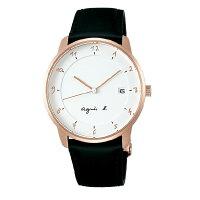 agnès b.到agnes b VJ42-KZ30Z(BS9001J1) 法式時尚經典腕錶/白面38mm