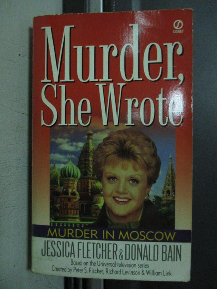 【書寶二手書T6/原文小說_OPS】Murder,she wrote_Donald bain