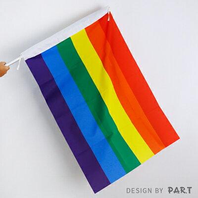 (PAR.T)彩虹商品-彩虹旗(5號)