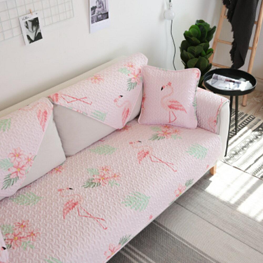 ✤宜家✤時尚簡約四季沙發巾 沙發墊防滑沙發套260 (70*150cm)