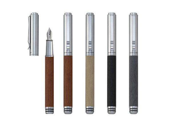 健康朝陽BRISUN:IWIHandscriptWD仿木紋系列鋼筆-640-D88D灰色