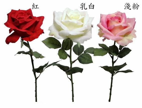★超低價★27吋 寶麗玫瑰-粉紅 / 人造花 空間 景觀 佈置 造景