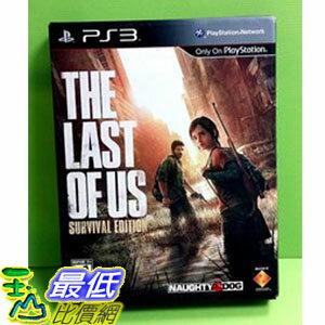 現貨 (美版) PS3 The Last of Us 最後生還者 Survival Edition 限定版