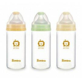 Simba小獅王辛巴 - 超輕鑽寬口直圓玻璃小奶瓶 180ml (一支)