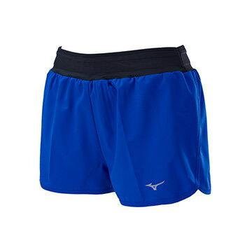 J2TB775325(亮藍)彈性材質內裡褲款式RUNNING女路跑短褲【美津濃MIZUNO】