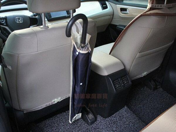約翰家庭百貨》【Q338】汽車雨傘套 椅背傘套 可收納3把傘 3段長度調節 雨天車內不弄溼
