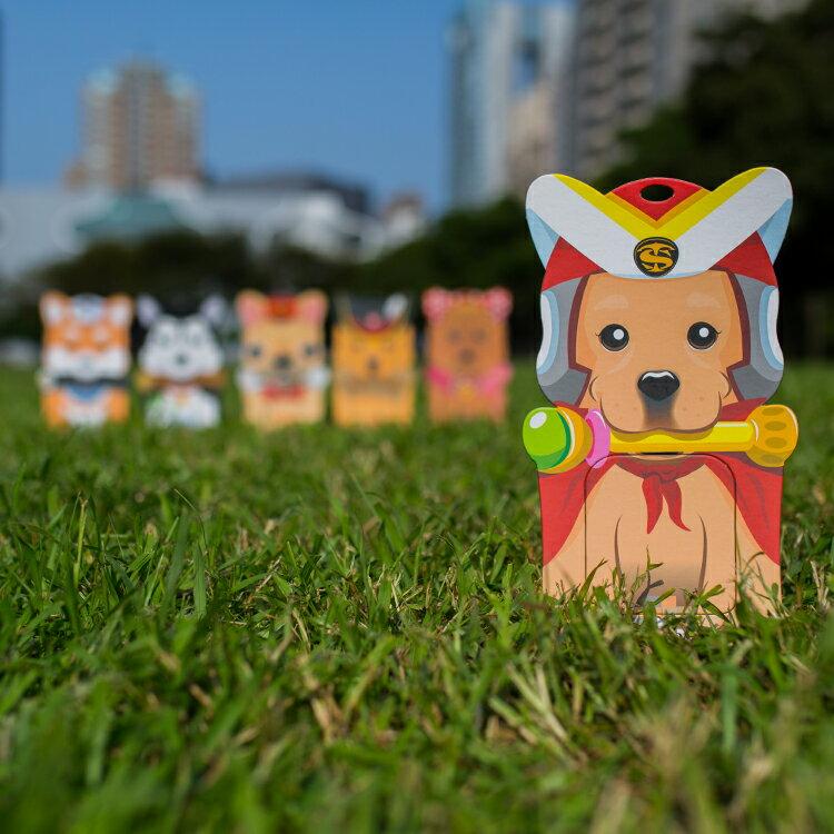L號超狗拉拉/備用接便器紙卡一張/便孔大、不漏接、易裝拆、免手拿/適合大型狗