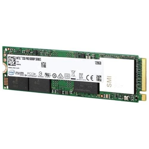 Intel SSD Pro 6000p Series 128GB M.2 2280 80mm NVMe PCIe Gen3 x4 PCI-Express 3.0 x4 3D NAND 3D1 TLC Internal Solid State Drive SSDPEKKF128G7X1