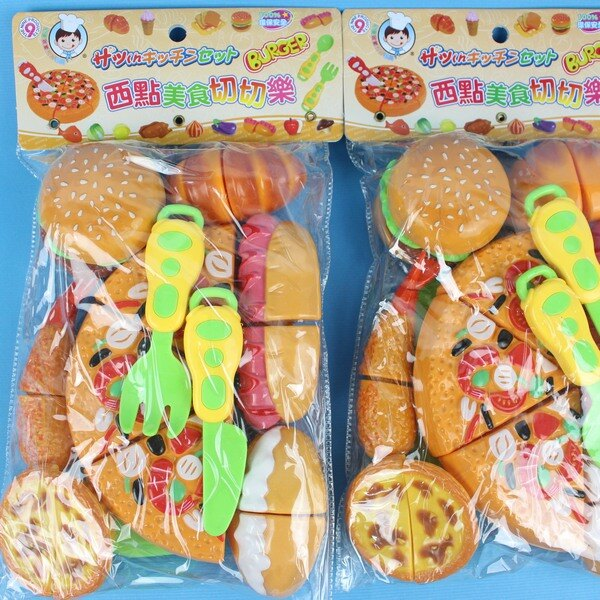 披薩蛋塔切切樂 D616 小廚師西點美食切切樂/一袋入 促[#199]家家酒玩具~生ST-909