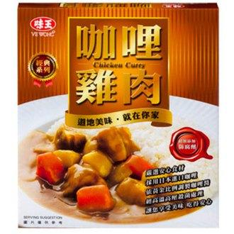 味王 調理包-咖哩雞肉 200g