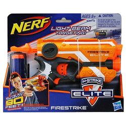《 NERF 樂活打擊 》菁英系列 - 夜襲者紅外線衝鋒槍 (橘)
