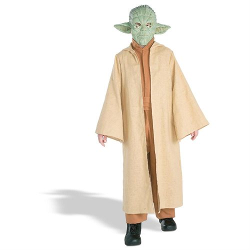 Star Wars  Yoda Deluxe Child Halloween Costume 0