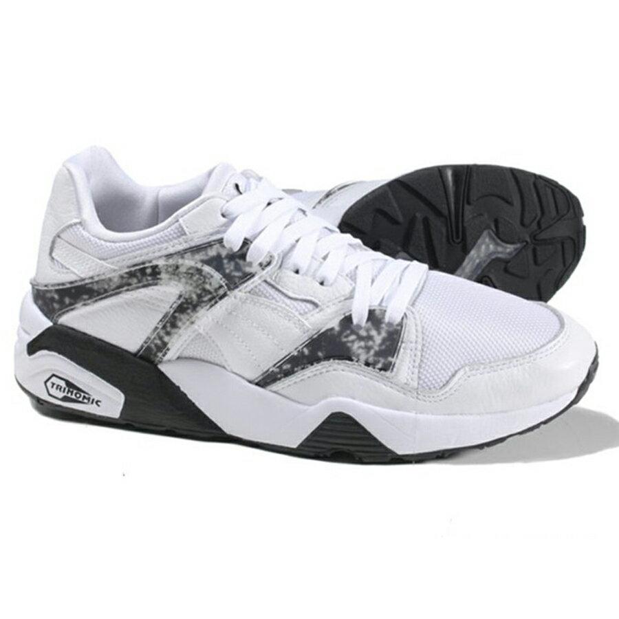 Puma Blaze MRBL LTHR 男鞋 慢跑 休閒 防彈少年團 BTS 白 【運動世界】 36215801