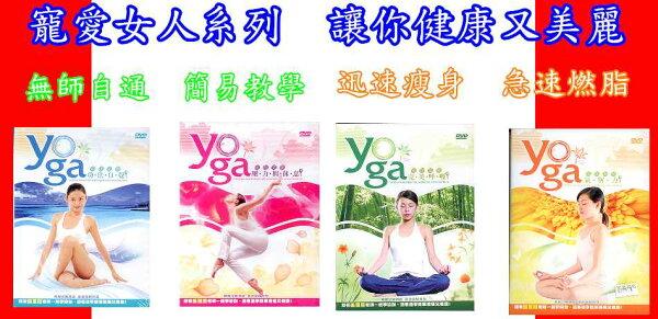 瑜珈美學1-4套組 / DVD