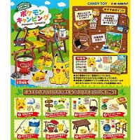 Pokemon:精靈寶可夢到盒裝8款【日本正版】皮卡丘 歡樂野餐組 盒玩 擺飾 寶可夢 神奇寶貝 Re-Ment - 203478