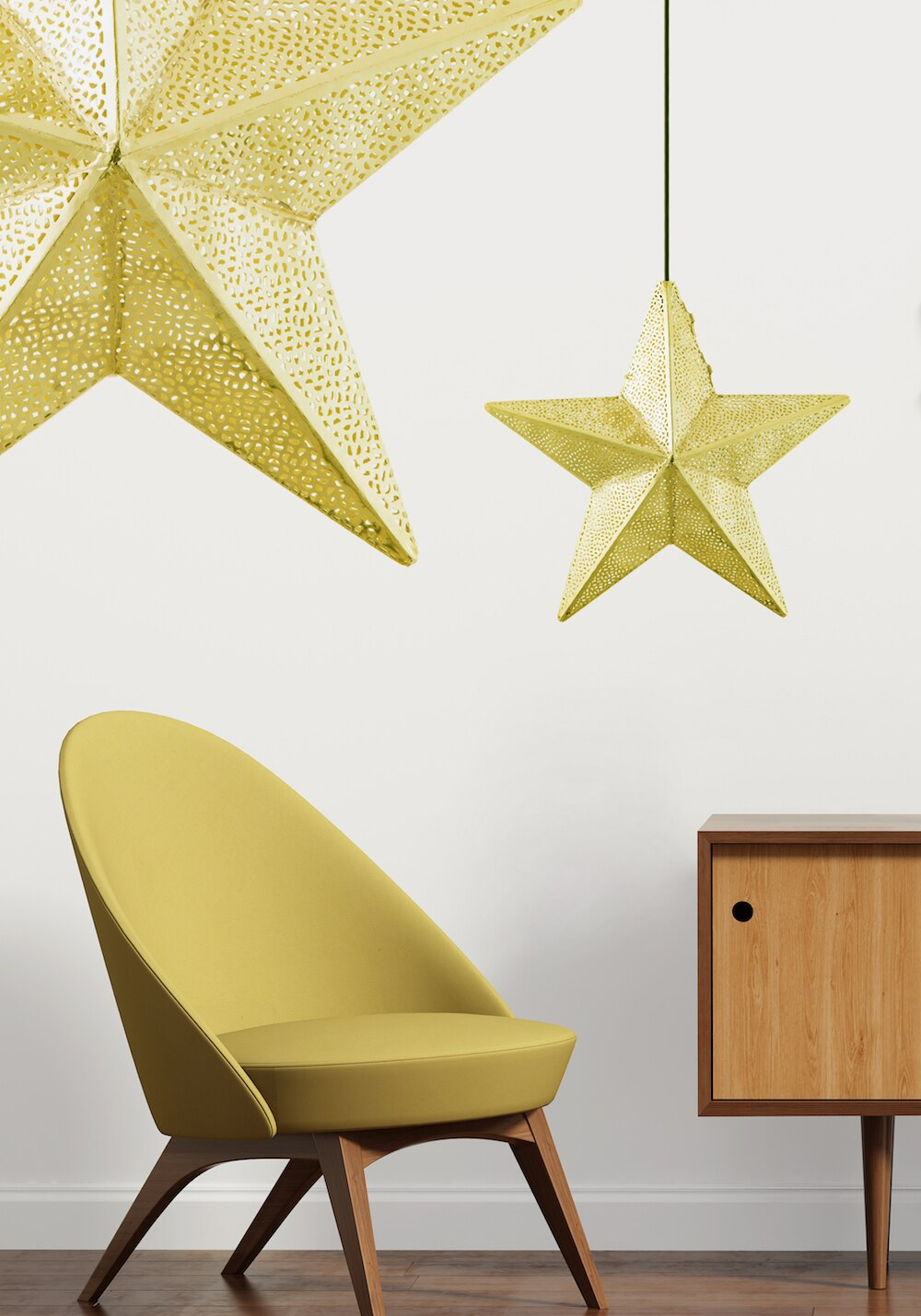 新鮮貨 青銅星星吊燈-BNL00073 7