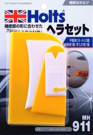 權世界@汽車用品 日本HOLTS 板金補土 DIY 專用刮板 刮刀 4入組 MH911