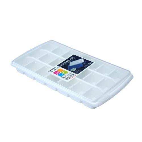 KEYWAYJ-P5-2071 超大附蓋製冰盒(21格)【愛買】