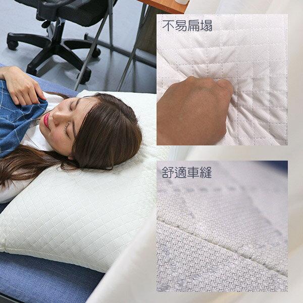 記憶枕 枕頭 高週波壓合《中高支撐度釋壓記憶枕》-台客嚴選 3
