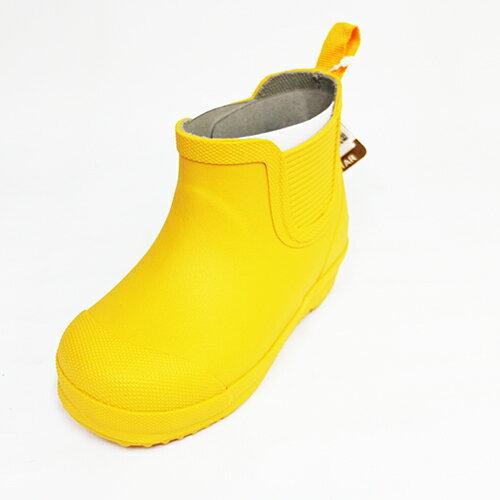 Moonstar 月星 輕量止滑耐磨 機能 童鞋 中筒 雨鞋 水鞋 MSRBC01R3 黃[陽光樂活]
