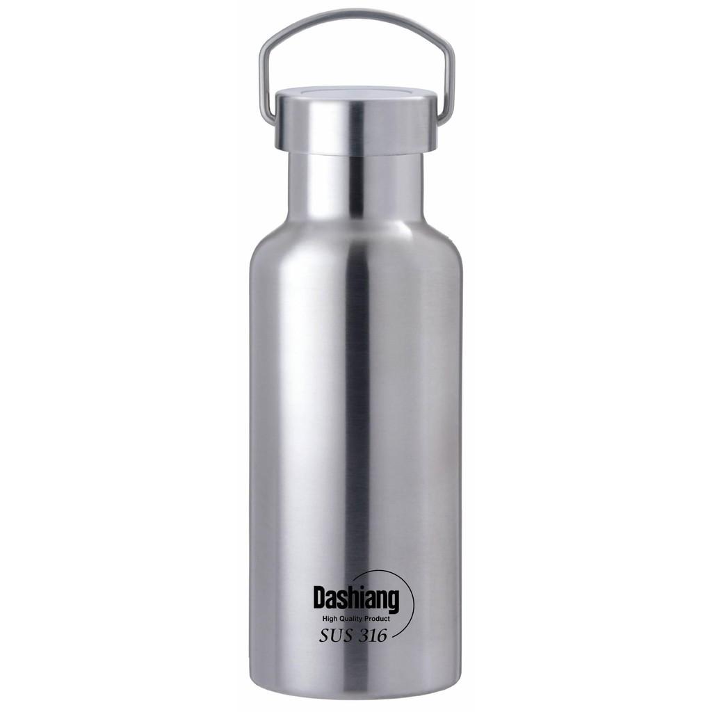 Dashiang真水真空運動瓶500cc/1000cc醫療級316不銹鋼保溫瓶保溫杯茶壺開水壺保冰罐
