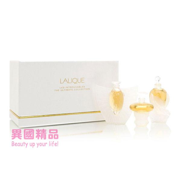 萊儷LaliqueLesIntrouvablesLimited2000To2002女用小香三件禮盒組4.5ml*3【特價】§異國精品§