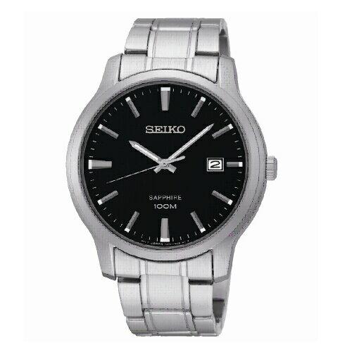 SEIKOCS經典紳士男腕錶黑面SGEH41P1(7N42-0GE0D)