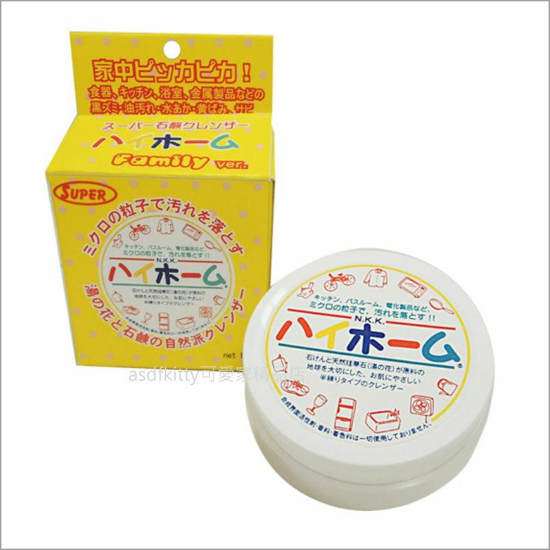 asdfkitty可愛家☆日本Hihome 湯之花 萬用清潔膏80g-超強頑垢就交給它-日本製