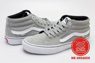 【整點特賣限時5折】☆Mr.Sneaker☆ VANS Sk8-Hi Pro 基本 專業 滑板鞋 休閒 高筒 灰 男段